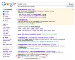 Web search image
